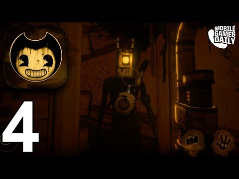 BENDY AND THE INK MACHINE Mobile - Chapter 3 - Gameplay Walkthrough Part 4 (iOS Android)