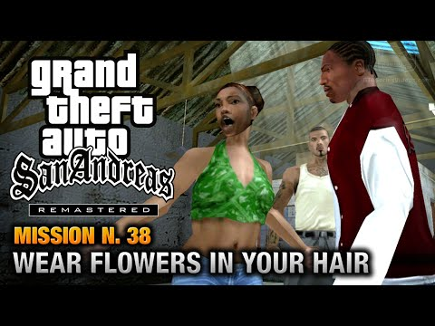 GTA San Andreas Remastered - Mission #38 - Wear Flowers In Your Hair (Xbox 360 / PS3)