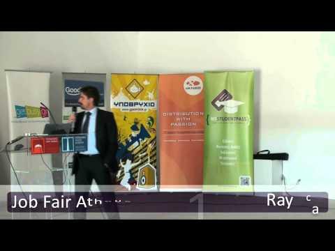 Job Fair Athens 2013 - Ομιλία Raycap