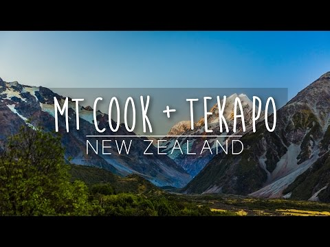 Explore Mt. Cook + Tekapo! | New Zealand