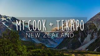 Explore Mt. Cook + Tekapo! | New Zealand