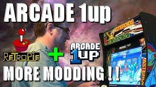 Arcade 1Up - More Modding, RetroPie + Original PCB