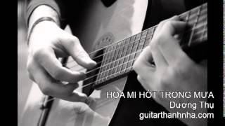 HỌA MI HÓT TRONG MƯA - Guitar Solo