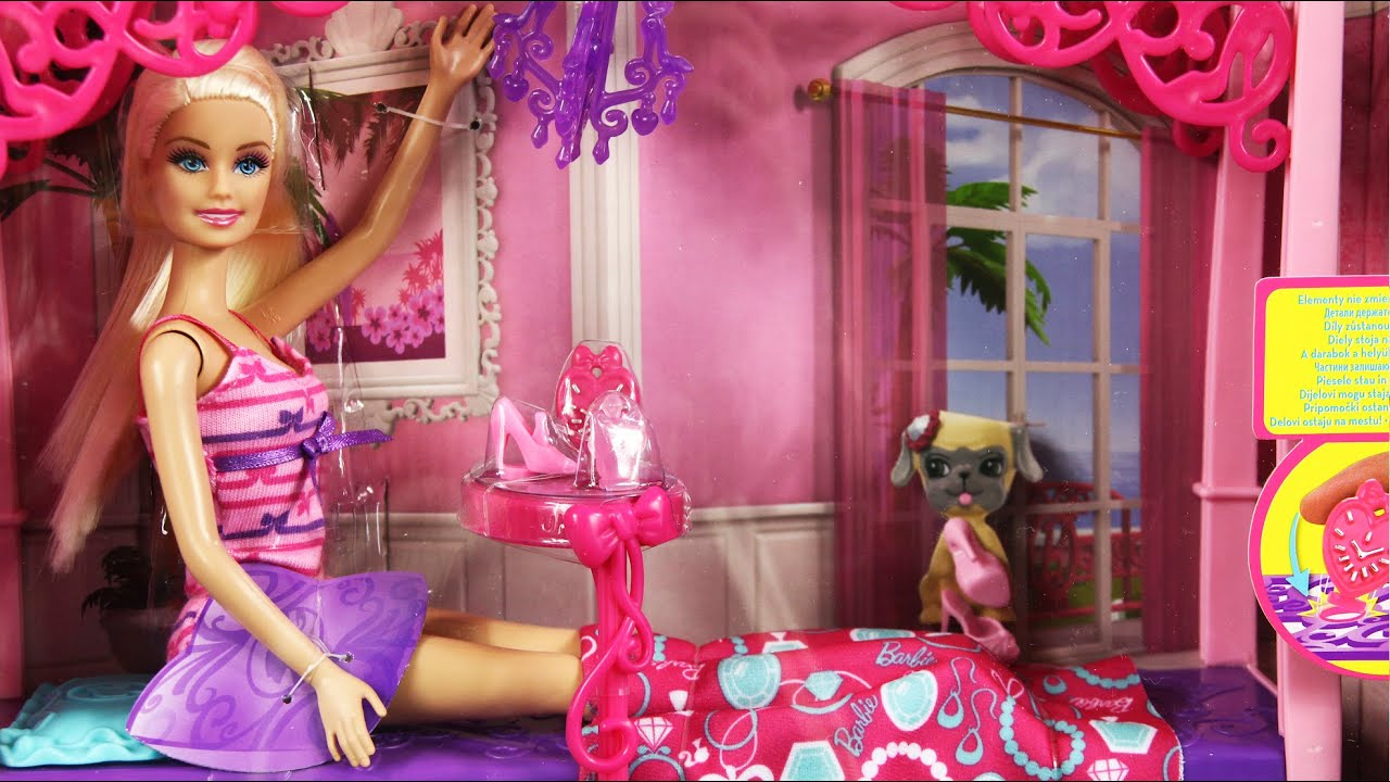 barbie glam bedroom sypialnia z lalk barbie mattel www