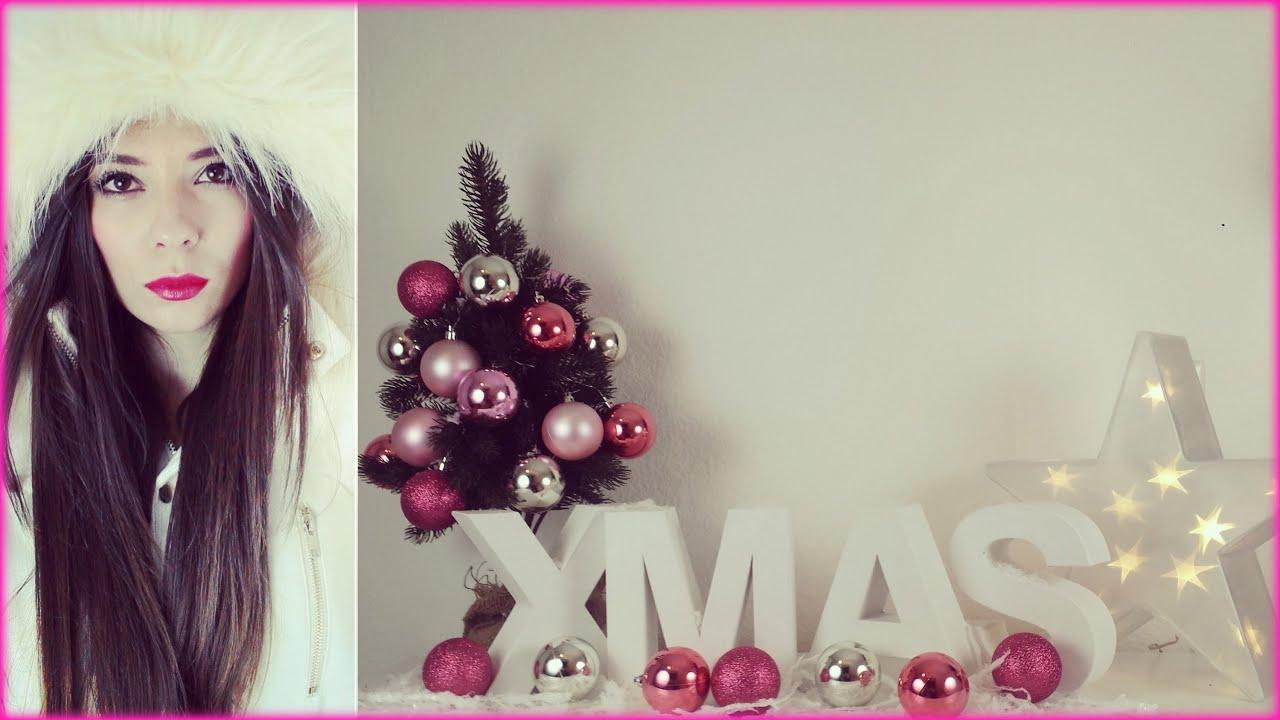 Zimmer weihnachtlich dekorieren deko haul youtube for Zimmer deko dachschrage