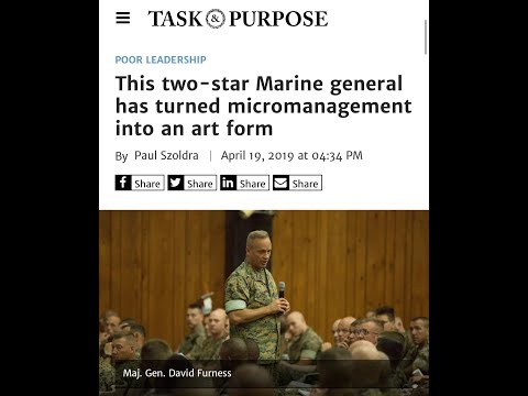 Marine General Micromanager V.S. Angry Drill SGT