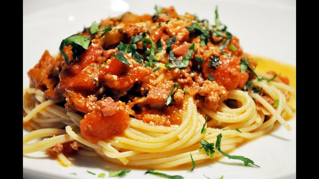 Copa mundial de f tbol plato de pasta italiana receta for Plato de espaguetis