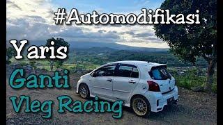Toyota Yaris Modifikasi Vleg Racing - hanya Ganti Vleg Sudah Tampil Cantik