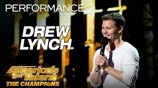 Drew Lynch Hilarious Comedian Tells The MOST Relatable Story America s Got Talent The Champions