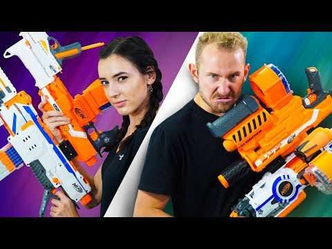 Thumbnail: NERF Build Your Weapon Challenge!