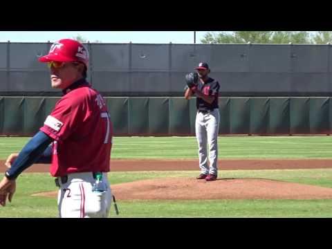 Danny Salazar Instructional League 2016