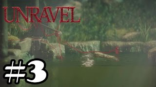 Unravel - Gameplay Walkthrough Part 3 - Level 3 Berry mire [ 60 FPS HD ]