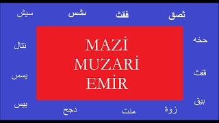 Arapça Dersleri -4 / Mazi muzari Emir