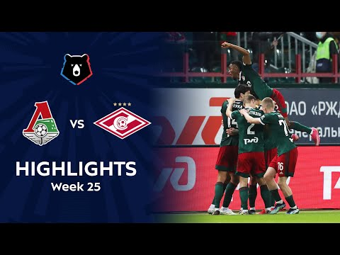 Lokomotiv Moscow Spartak Moscow Goals And Highlights