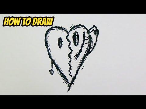 How to Draw XXXTentacion Logo Easy