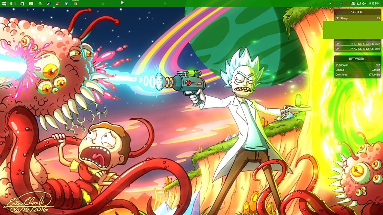 Rick and Morty Background - YouTube