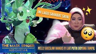 Download lagu Putri Doyong Nyanyi Lagu Nike Ardila, Melly Goeslow Nangis! | The Mask Singer S3 Eps. 7 (2/6) 2018 Mp3