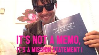 NOT Tom Cruise Reads Cameron Crowe's Complete Mission Statement From Jerry Maguire