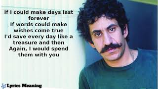 Gambar cover Jim Croce | Demo Recording - Time In A Bottle | Lyrics Meaning