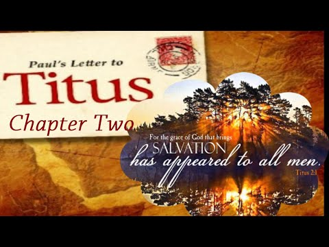 BRIDGING THE GENERATION GAP - THE LETTER OF PAUL TO TITUS PART II