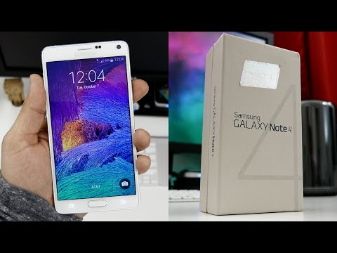Samsung Galaxy Note 4 Unboxing & First Impressions!