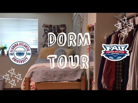 DORM TOUR - Florida Atlantic University