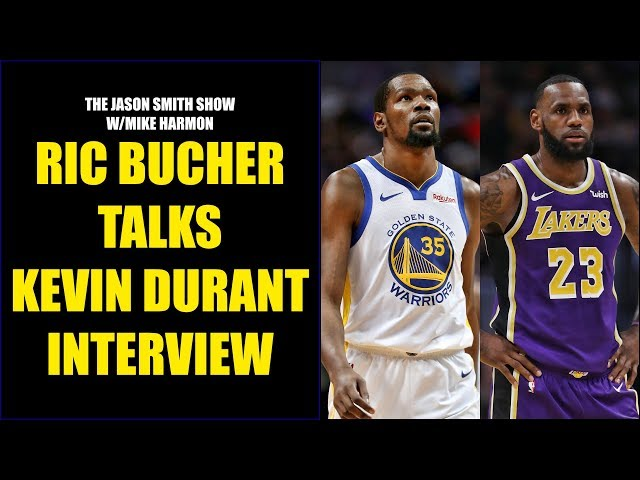 Ric Bucher Talks Kevin Durants Comments on Players Not Wanting to Play with LeBron