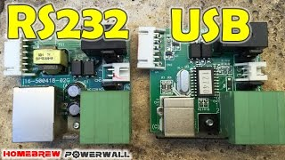 Changing USB to Com (RS232) Port & Project Update