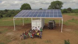 Empowered by Light Solar/Battery Microgrid - Mugurameno, Western Province Zambia
