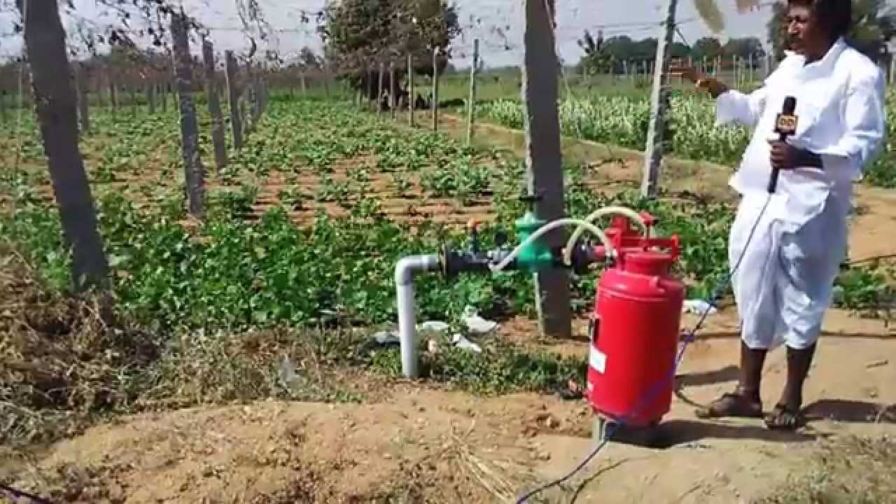 Venturi Fertilizing System In Drip Irrigation Explained By