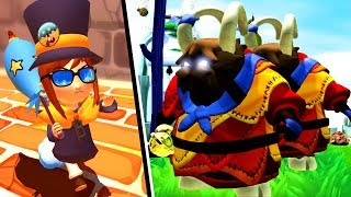 AS CABRAS ALÉRGICAS (A Hat in Time)