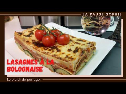 lasagnes-à-la-bolognaise