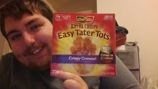 "The Microbear Gourmet Episode 51 ""oreida Extra Crispy Easy Tater Tots Crispy Crowns"""