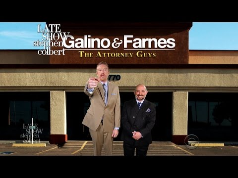Watch to See Trump's New Lawyers: Galino & Farnes!  Too Funny!