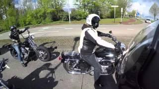Harley Davidson Club Zuid-Holland Openingsrit 2016