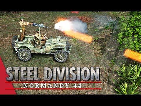 Flight of the Wasps! Steel Division: Normandy 44 Gameplay (Bois de Limors, 4v4)