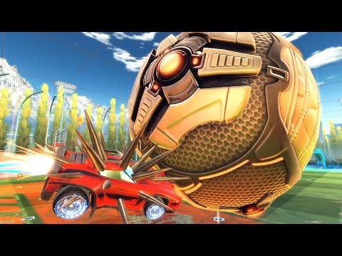 Thumbnail: GIANT BALL ROCKET LEAGUE RUMBLE