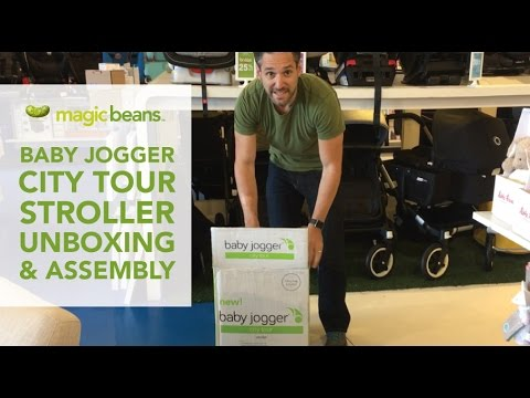Baby Jogger City Tour Stroller Unboxing And Assembly | Best Strollers | Demo