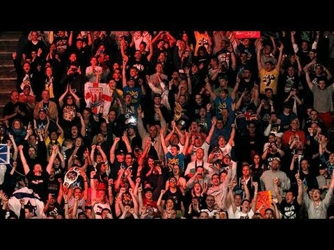 Wrestling crowd background