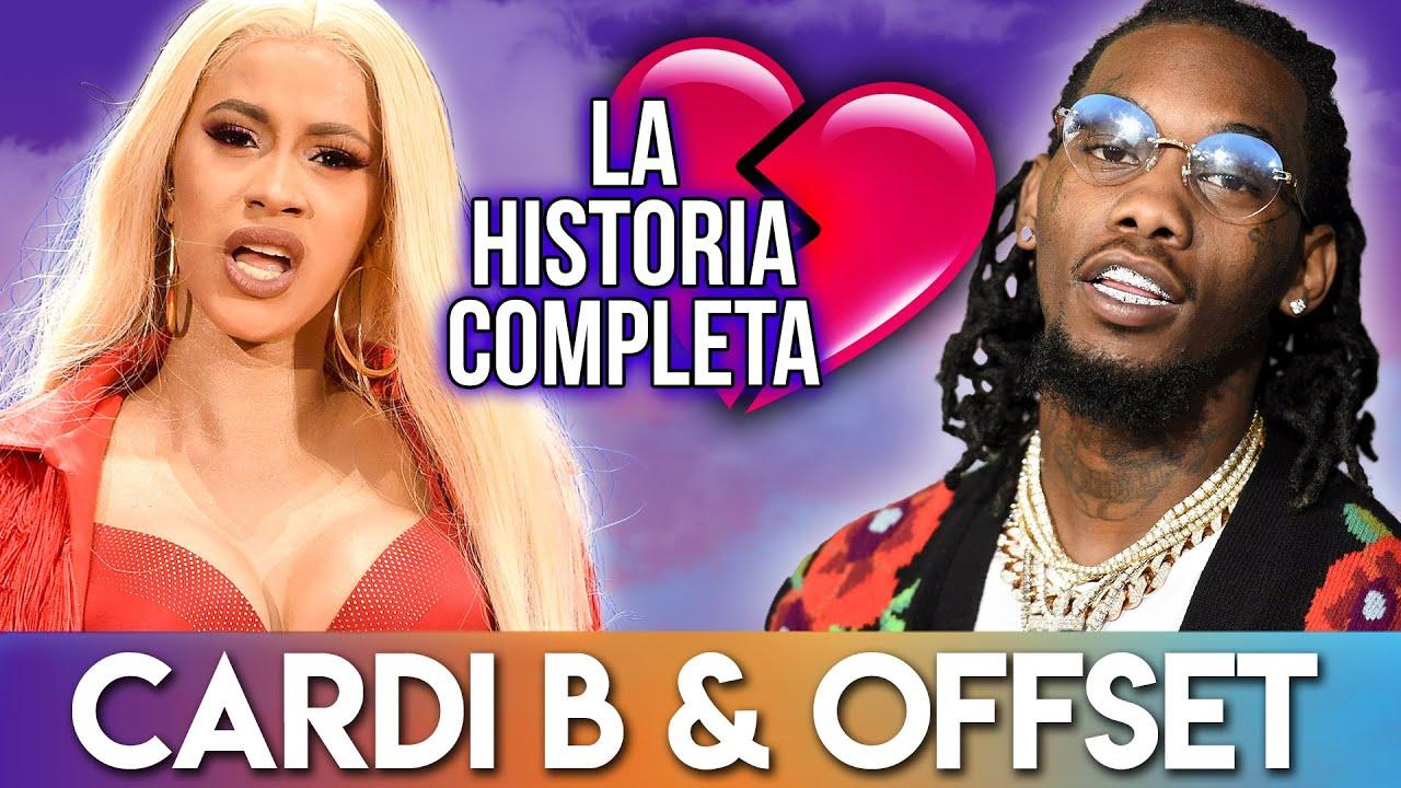 Cardi B & Offset | La Historia Completa | Como Se Conocieron, Matrimonio Y Divorcio