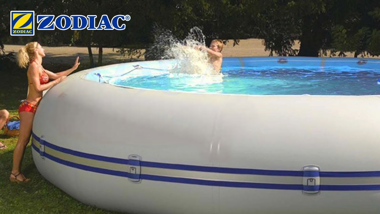 Demonstration Et Installation Piscine Zodiac Winky Ovline Hippo