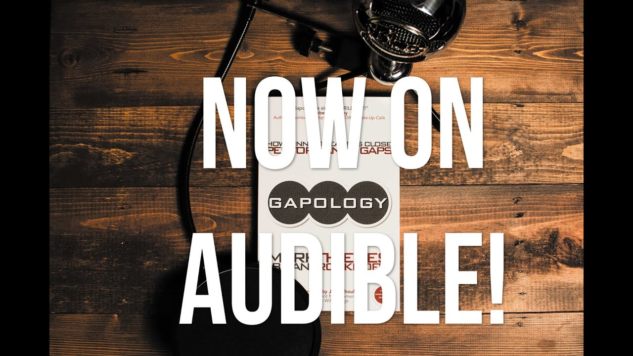 Gapology on Audible Announcement