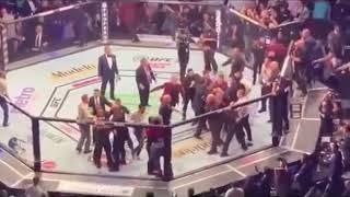 Conor McGregor vs Khabib Team Incident After UFC 229