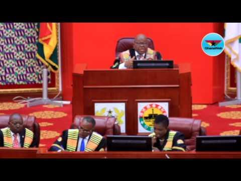 Haruna Iddrisu heckles Finance Minister in Parliament
