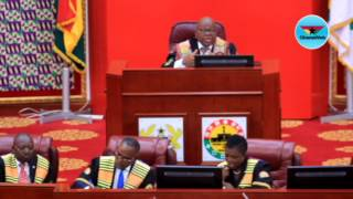 Haruna Iddrisu heckles Finance Minister in Parliament
