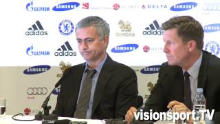 Call Me The Happy One: Chelsea want stability - News conference 10 June 2013 (Part 2)