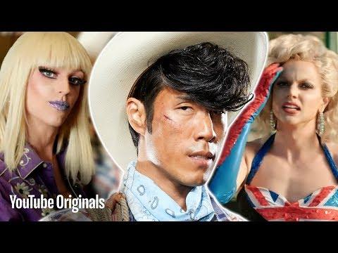 RuPaul's Drag Race Vs. UFC Fighters • Cowboy Up