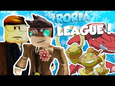 TRAINING FOR THE RORIA LEAGUE!! / Pokemon Brick Bronze / Roblox