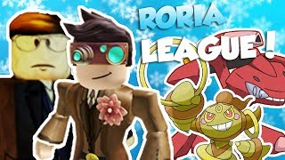 TRAINING FÜR DIE RORIA LEAGUE!! / Pokemon Ziegel Bronze / Roblox