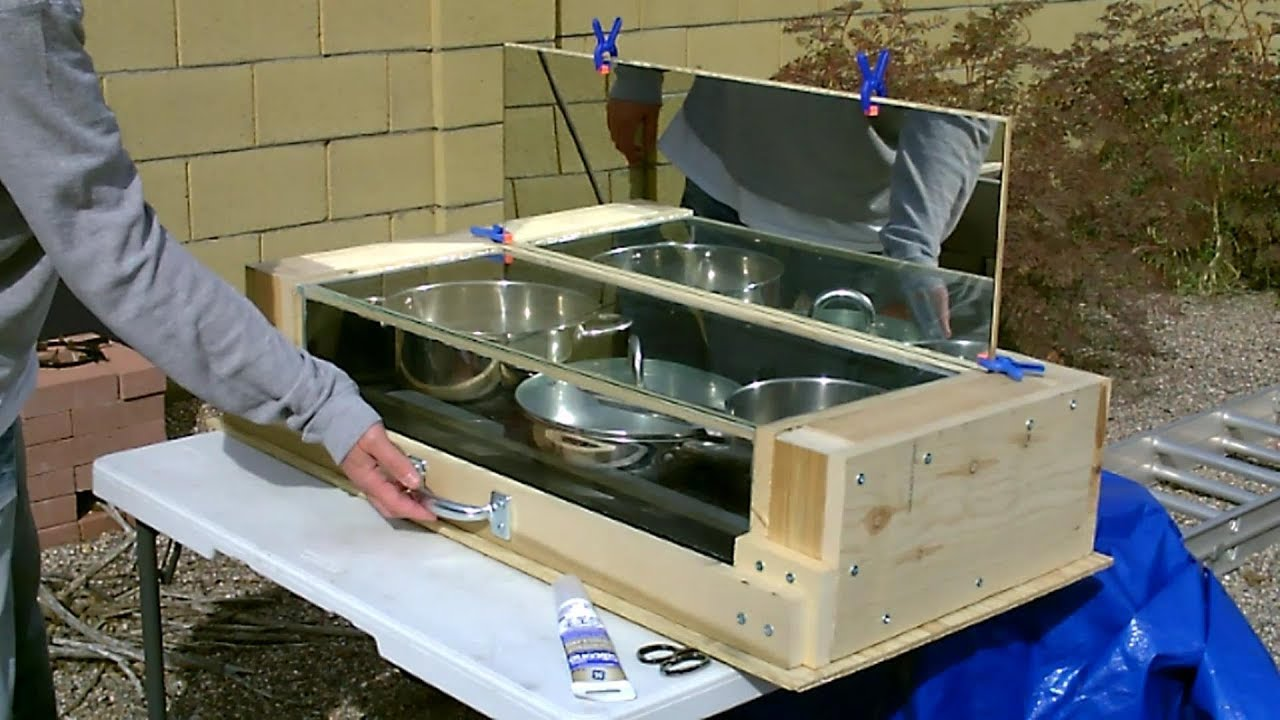 Solar Oven! Fully Insulated